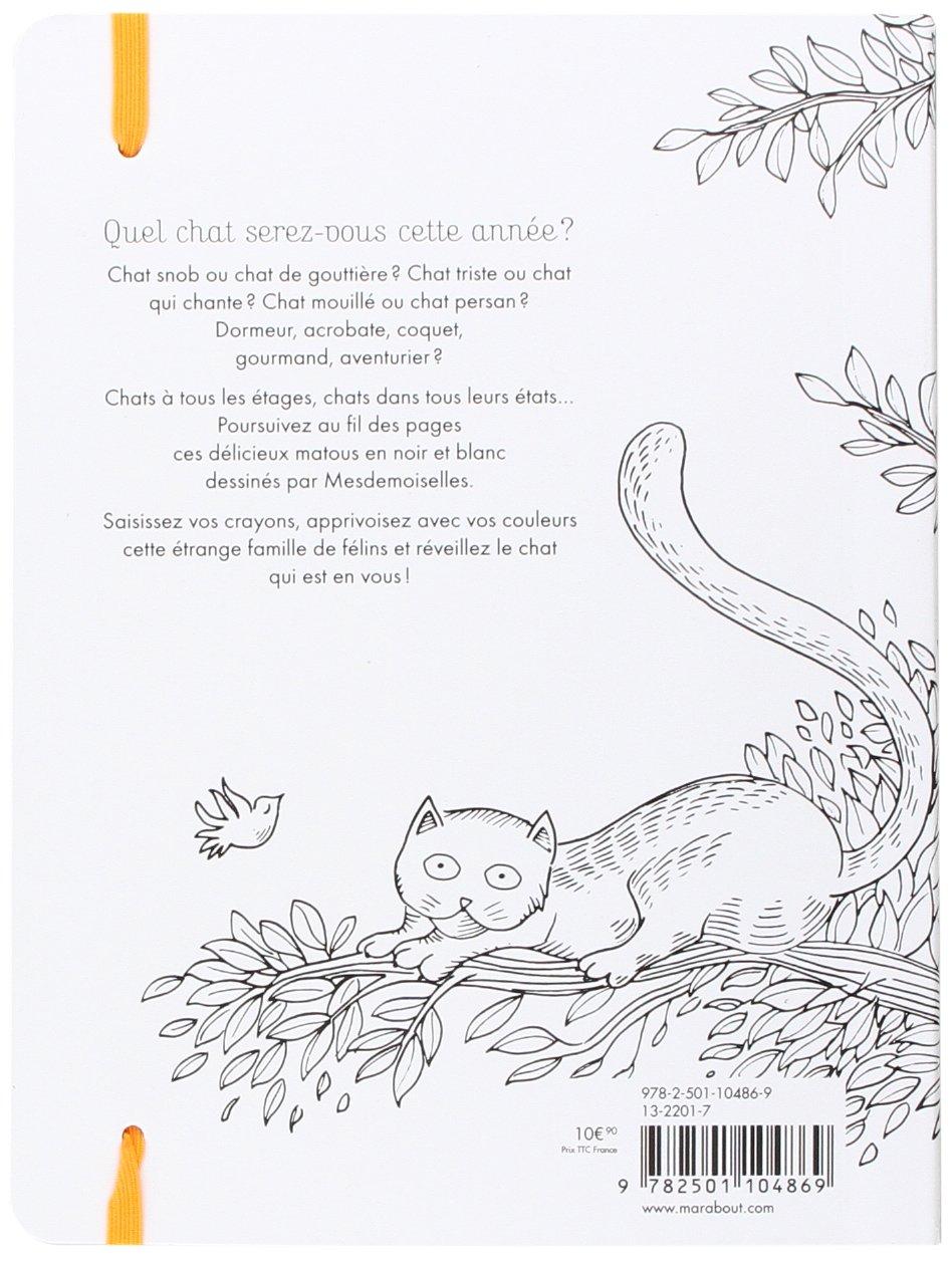 Agenda 2016 à chacun son chat: 52 semaines à colorier Vie ...
