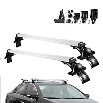 Kayak Roof Rack For Cars Without Rails >> Amazon Com Zhange Roof Rack Crossbars Adjustable Cross Bars