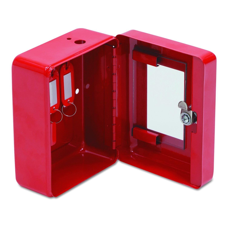 FireKing EK0506 Hercules Emergency Safe, Steel, 0.05 ft3, 4-3/4w x 6d x 3h, Red (FIREK0506)