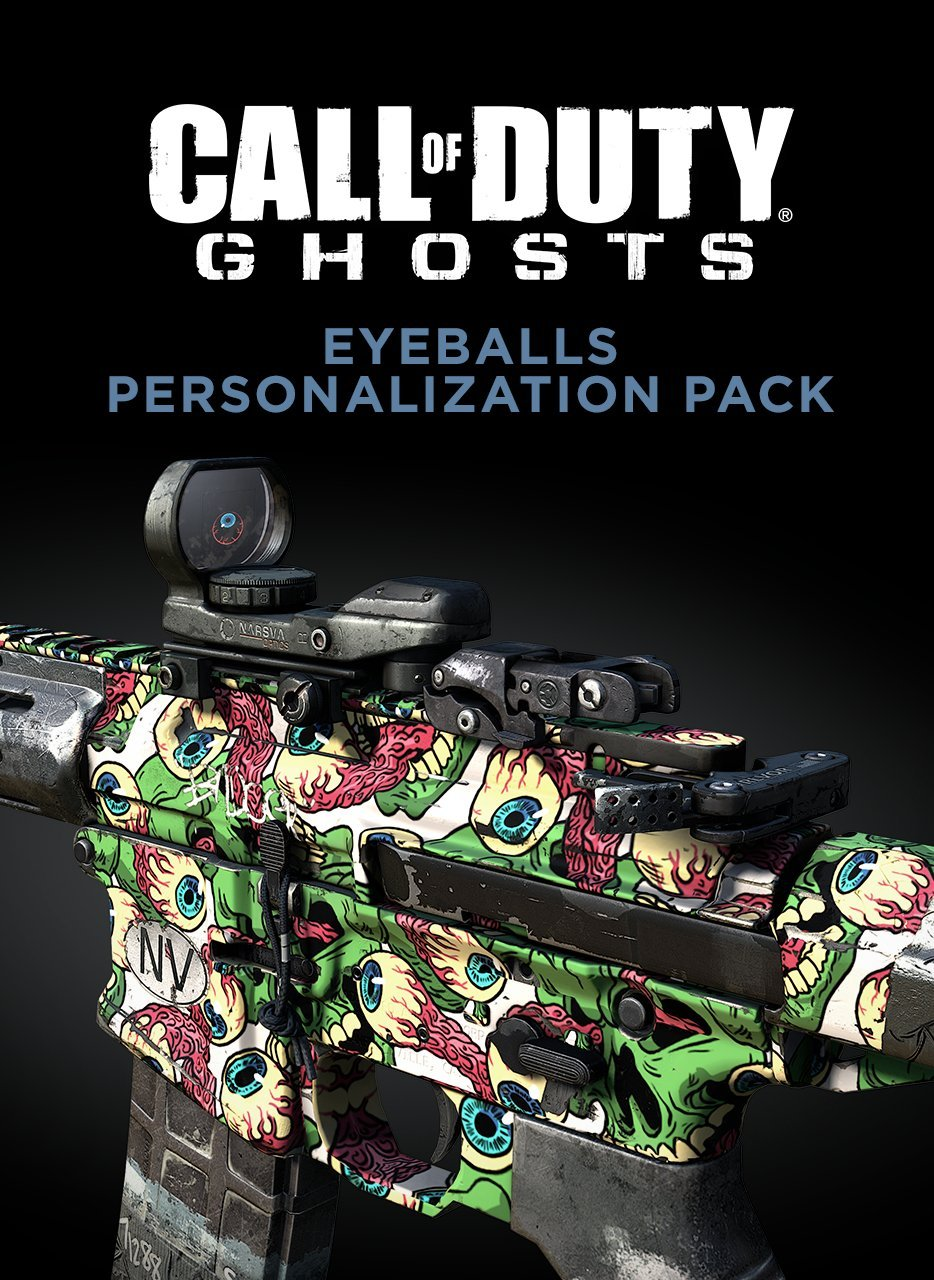call of duty ghosts personalization pack code free