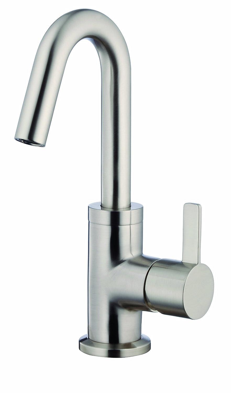 Danze D221530BN Amalfi Single Handle Lavatory Faucet, Brushed Nickel ...
