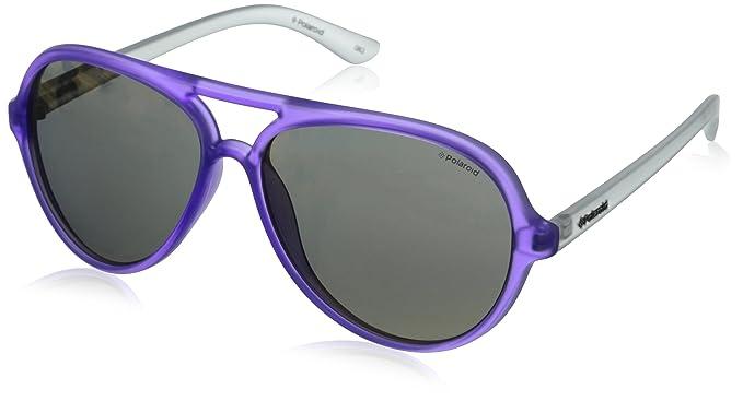 Polaroid Sonnenbrille P8401 58 0VC/FA Gafas de sol, Morado ...