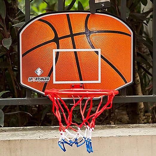 Canasta Tableros de Baloncesto 31.5inch portátil del aro de ...