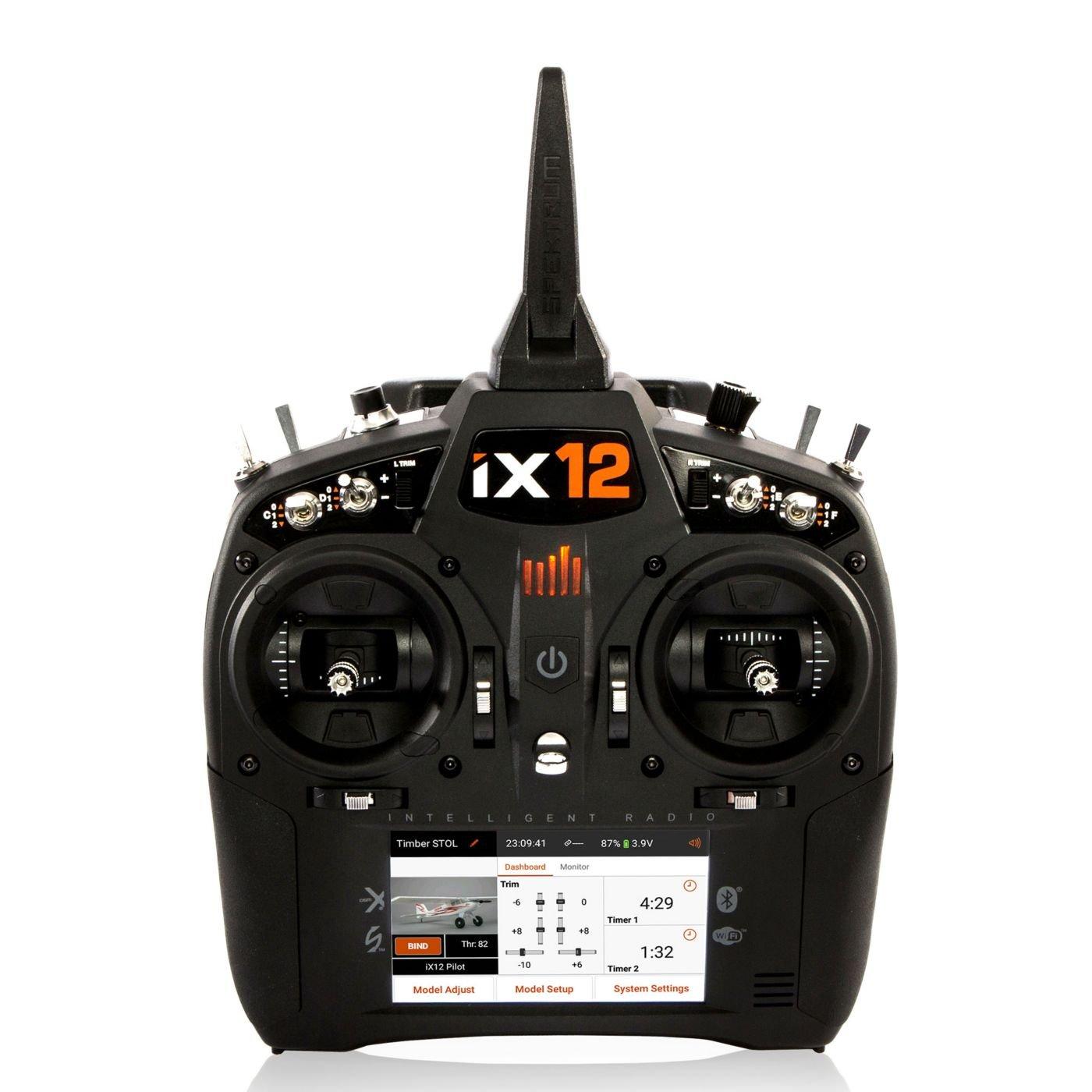 Spektrum iX12 12-Channel DSMX Transmitter Only, Black