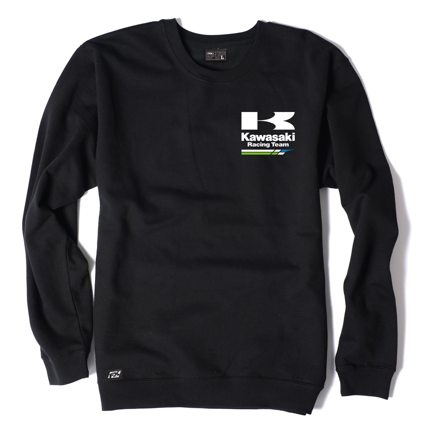 Factory Effex (18-88114) Racing Crew Sweatshirt (Charcoal, Large) by Factory Effex
