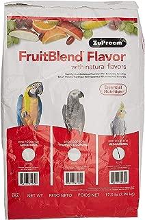 product image for Zupreem 230328 Fruitblend Medium Tiel Caged Bird Food, 17.5-Pound