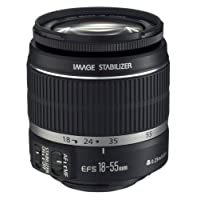 Canon EF-S 18-55mm f/3.5-5.6 IS Lens (Certified Refurbished)