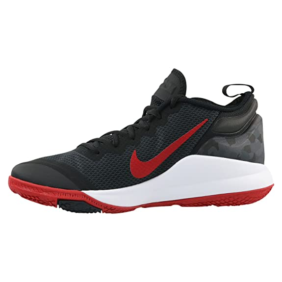 Amazon.com | Nike Mens Lebron Witness II Basketball Shoe Black/White-Gym Red 13 | Basketball
