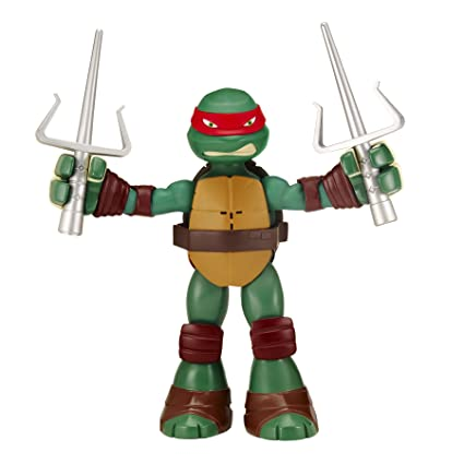 Teenage Mutant Ninja Turtles Stretch N gritan Raphael ...