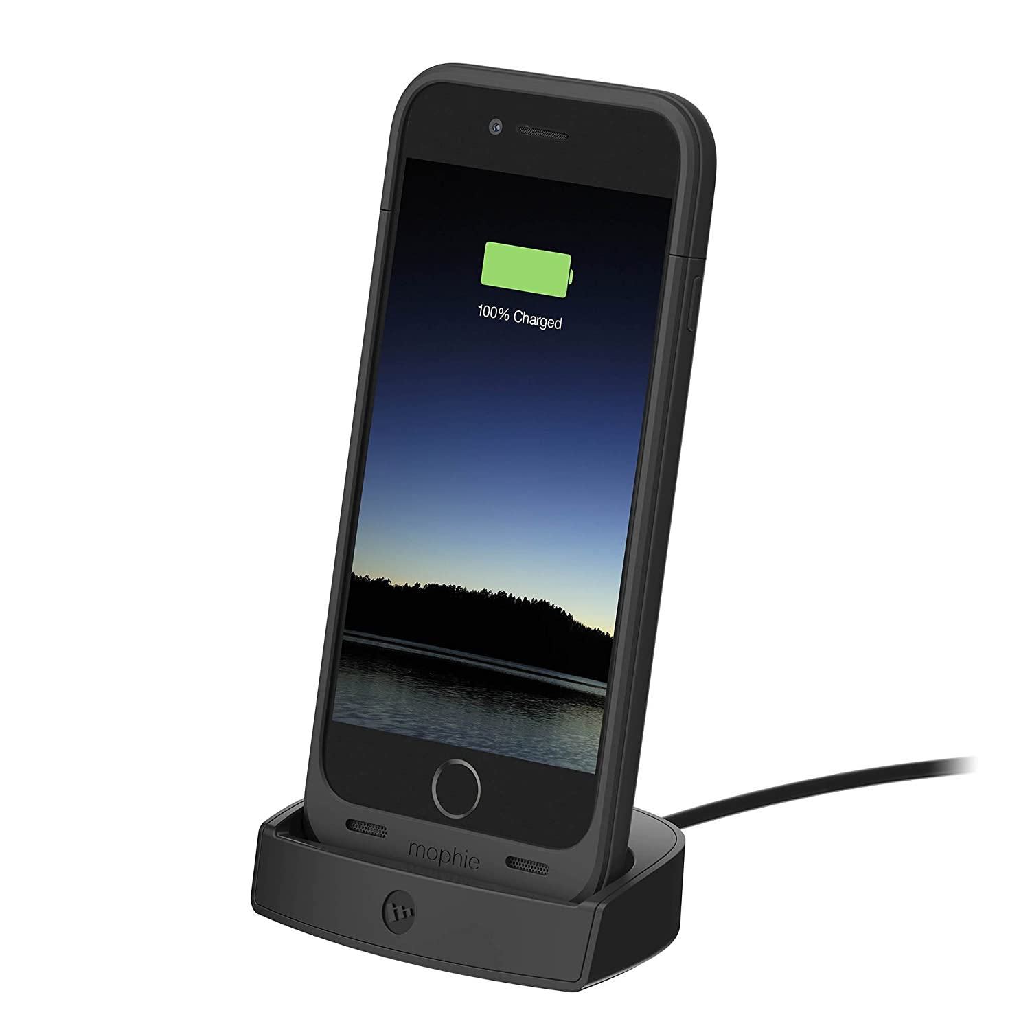iphone 6 dock mophie juice pack charging dock for iphone 6 6s black ebay 11322