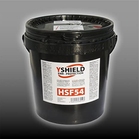 EMR Shielding Solutions EMF Shielding Paint YSHIELD HSF54 5 Liter