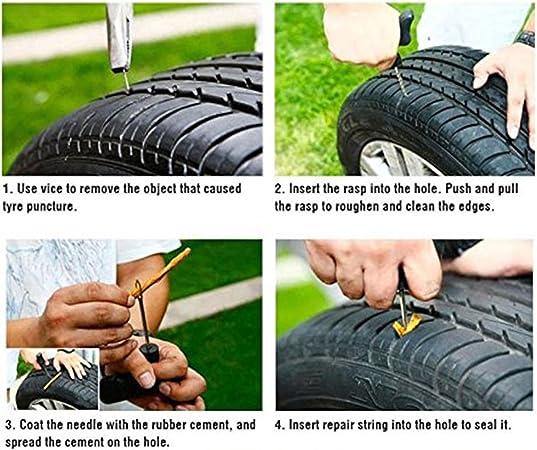 Tire String Plug TS-86010 Tire Plug for tubeless ¢6 8inch brown 200mm 50 pcs
