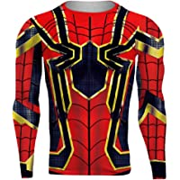 Super Hero Compression Shirt Cool 3D Printed Quick Dry Fitness Running Gym Base Layer Tee Shirt