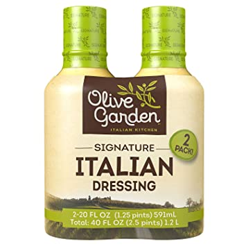 olive garden signature italian dressing 20 oz bottle 2 ct - Olive Garden Italian Dressing