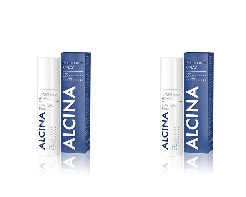 Alcina 2x Feuchtigkeits Spray je 100 ml = 200 ml Dr. Kurt Wolff