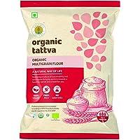 Organic Tattva Organic Whole Wheat Flour, Chakki Atta, 1kg
