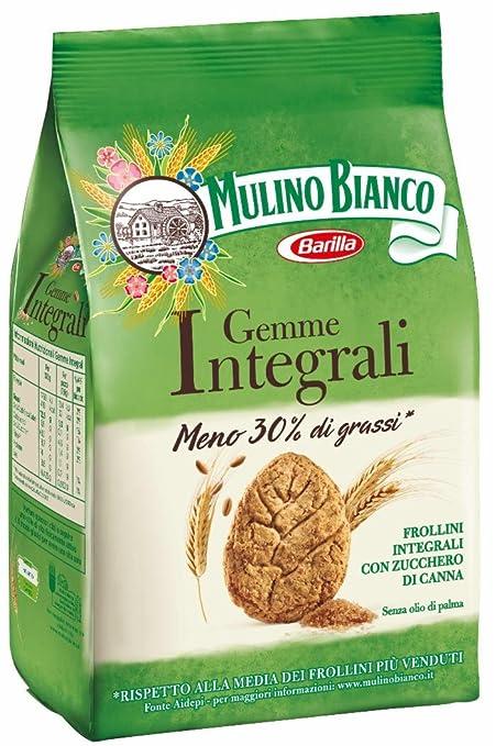 4 opinioni per Mulino Bianco- Biscotti Gemme Integrali- 4 confezioni da 300 g [1200 g]