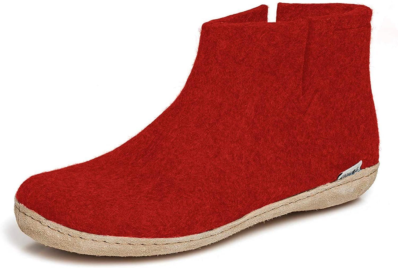 glerups dk G Ankle Shoe Unisex-Erwachsene Filz-Stiefel - Bequeme Schuhe