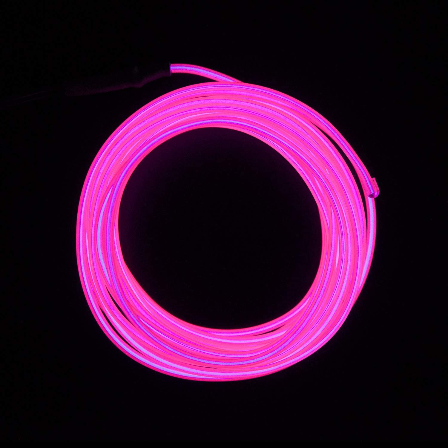 Blue El Wire Lychee/Â/® 9ft 3m Blue Neon Glowing Strobing Electroluminescent Wire