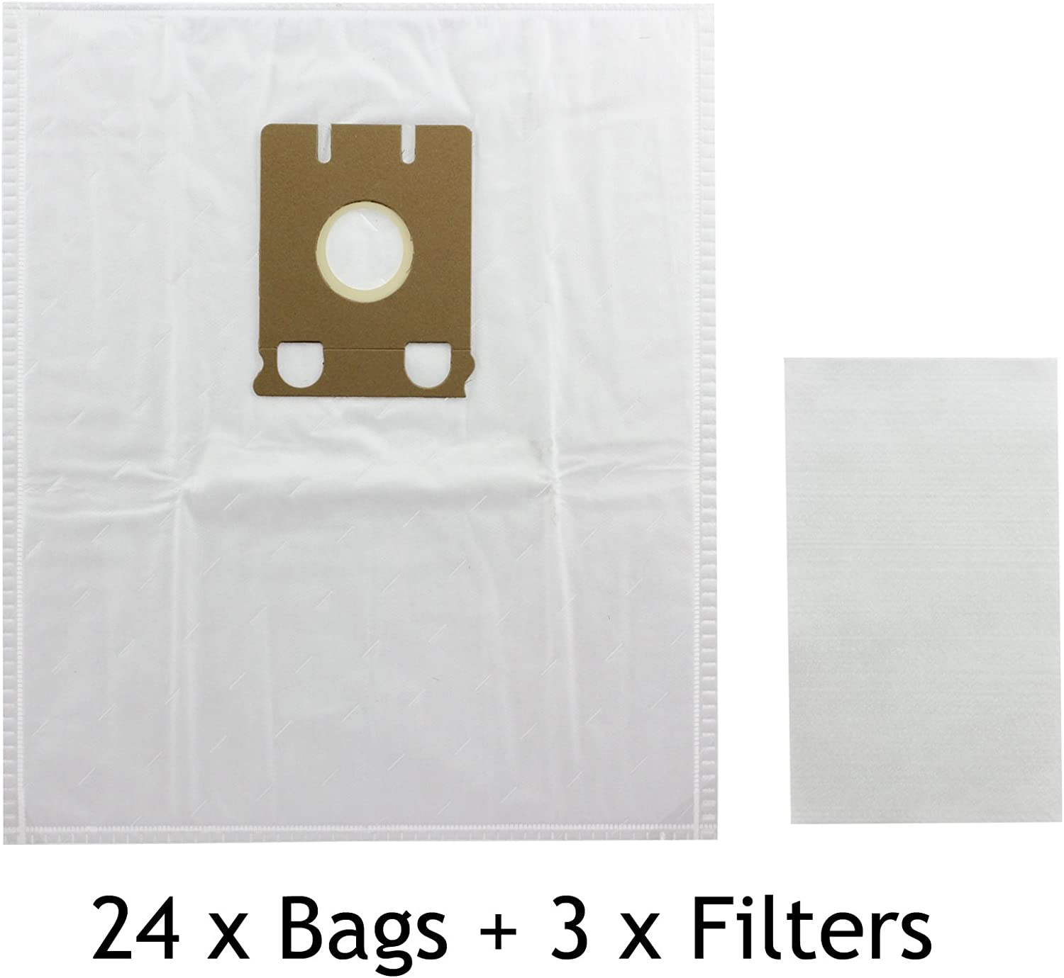 SMS Dust Bags Type E for Miele S217 Filter S226 Hoover Vacuum Cleaner x 8