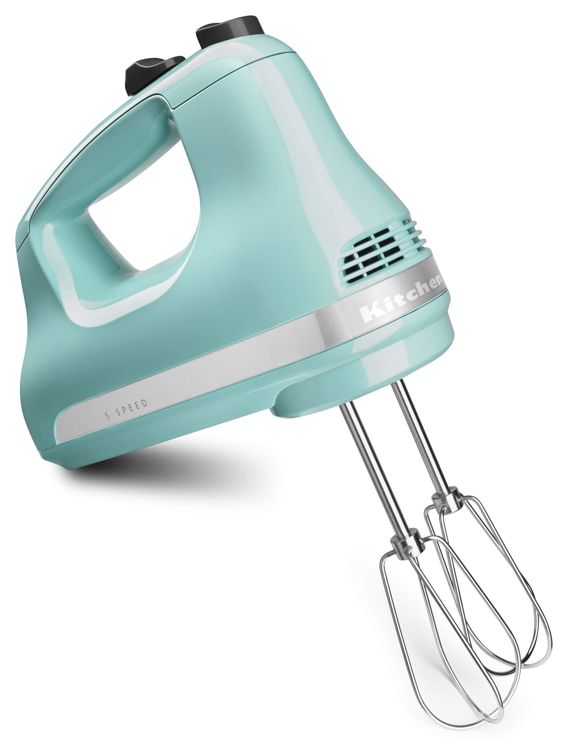 KitchenAid KHM512AQ Pro Line 5 Speed Hand Mixer, Aqua Sky by KitchenAid