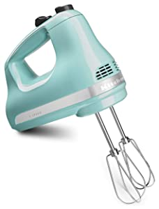 KitchenAid KHM512AQ Pro Line 5 Speed Hand Mixer Aqua Sky