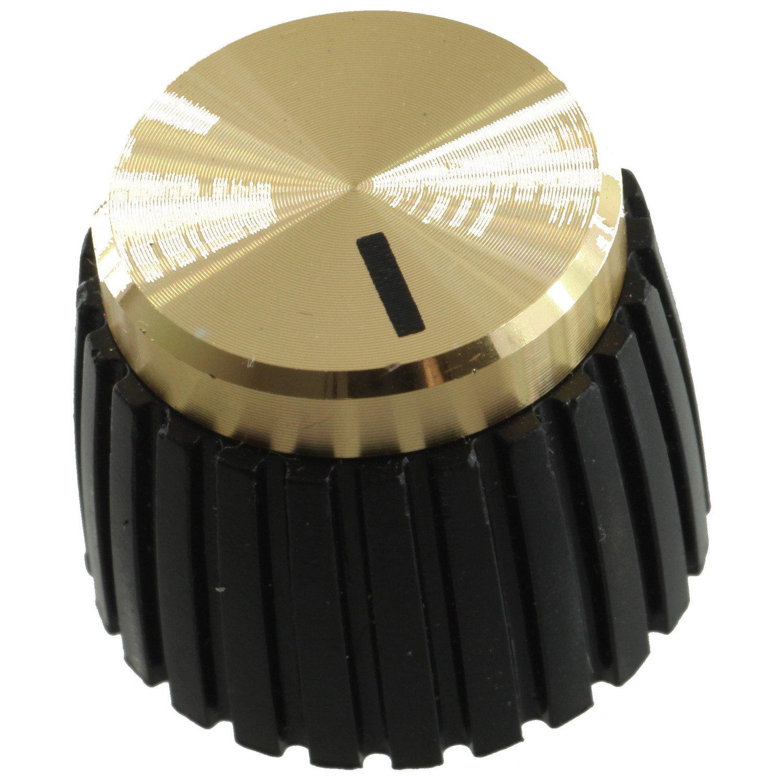 Original Marshall Amplifier Gold Push-On Knob Set, Pkg. 8