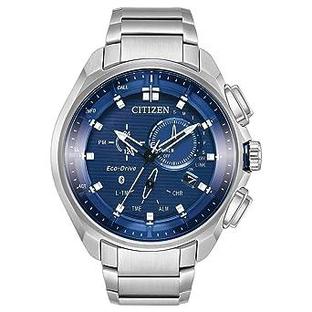 298fd5922d3 Amazon.com  Citizen Watches Men s BZ1021-54L Eco-Drive Silver Tone ...