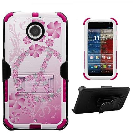 Spots8 Motorola Moto X 2nd Gen XT1092 XT1093 XT1094 XT1095 XT1096 XT1097 Case Belt Clip Holster