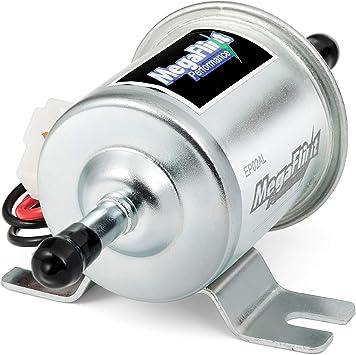 12V Petrol Diesel Gas Fuel Pump Universal Inline Electric Pump HEP-02A