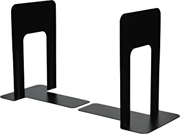 Amazon Com Officemate Bookends 9 Inches Non Skid Base Black Pair 93051 Desktop Book Stands Office Products