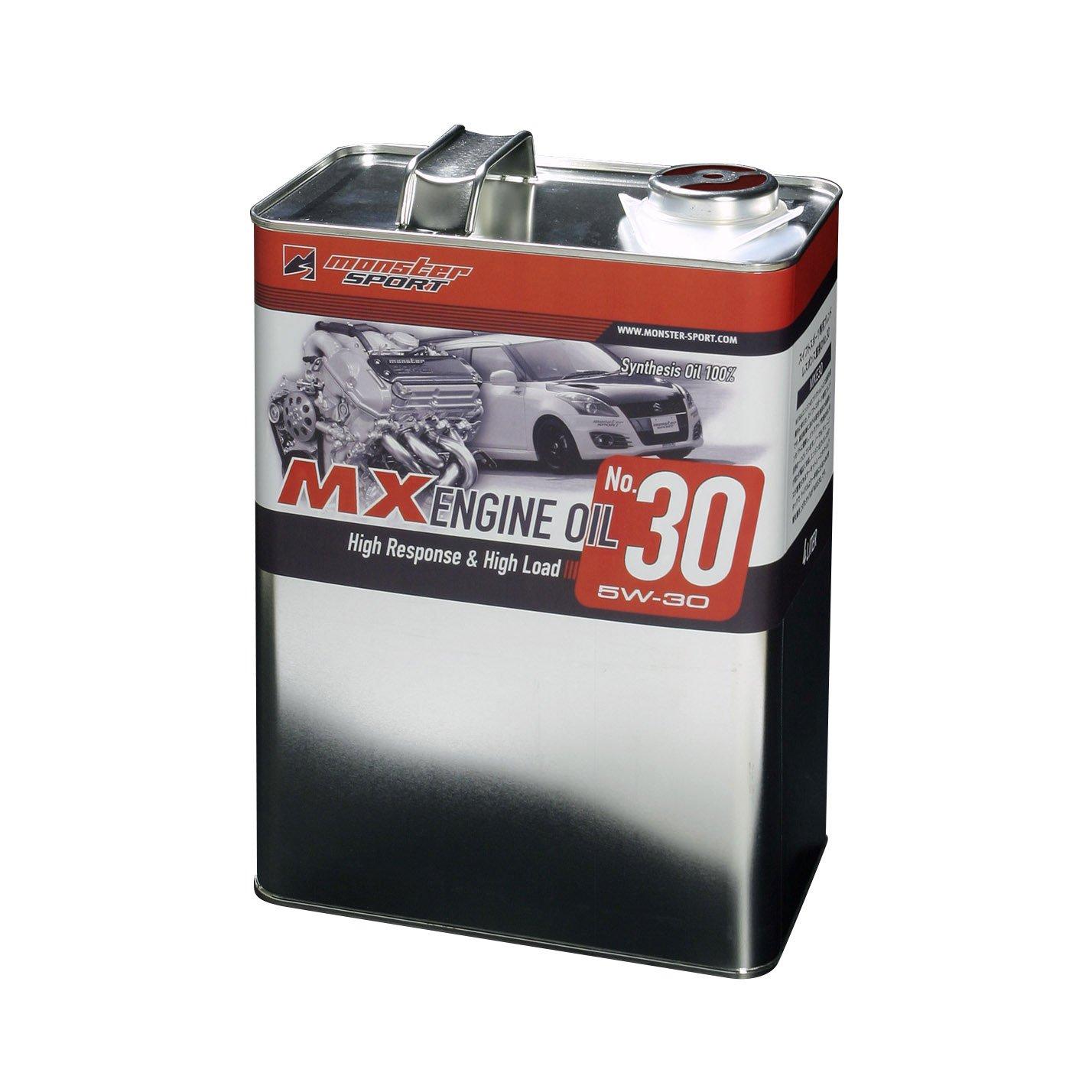 MONSTER SPORT MXエンジンオイル 15w-50/4L入 各車適合 MXE1550-4 B0154JN35K 15w-50