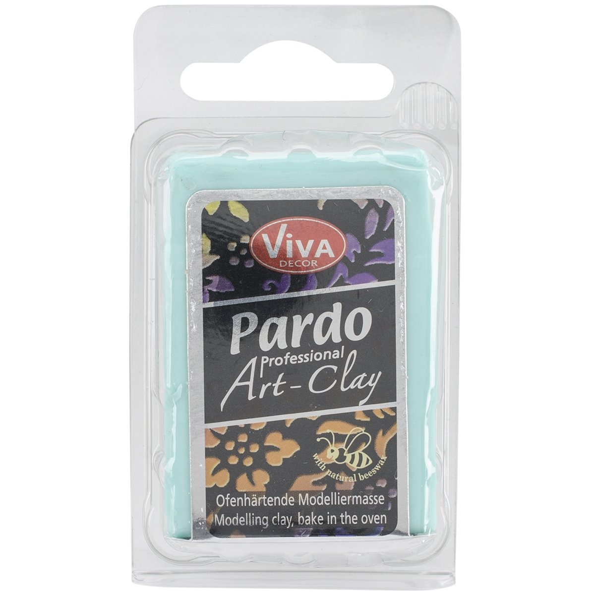 Viva Decor Pardo Art Clay Translucent, 56g, Aqua PARDOTRN-71060