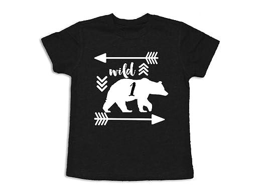 Wild One 1st Birthday Shirt 1 Year Old 12 Months