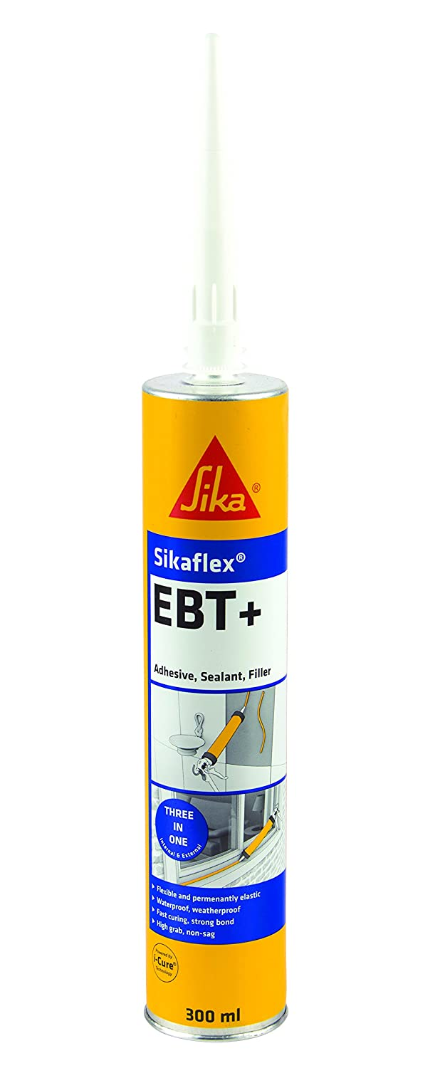 Sikaflex EBT+ - An all in one adhesive, sealant and filler - 300ml - White