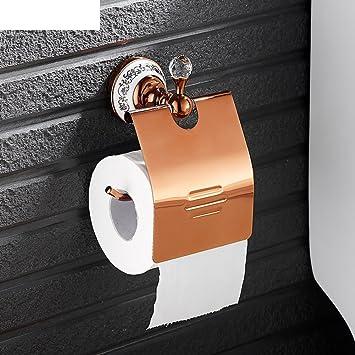 ZZB Todo el cobre de cristal titular de dos tazas/Cepillo de dientes portavasos/Baño portavasos doble: Amazon.es: Deportes y aire libre