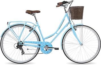 Kingston Hampton - Bicicleta para mujer, 19 in, color azul celeste ...
