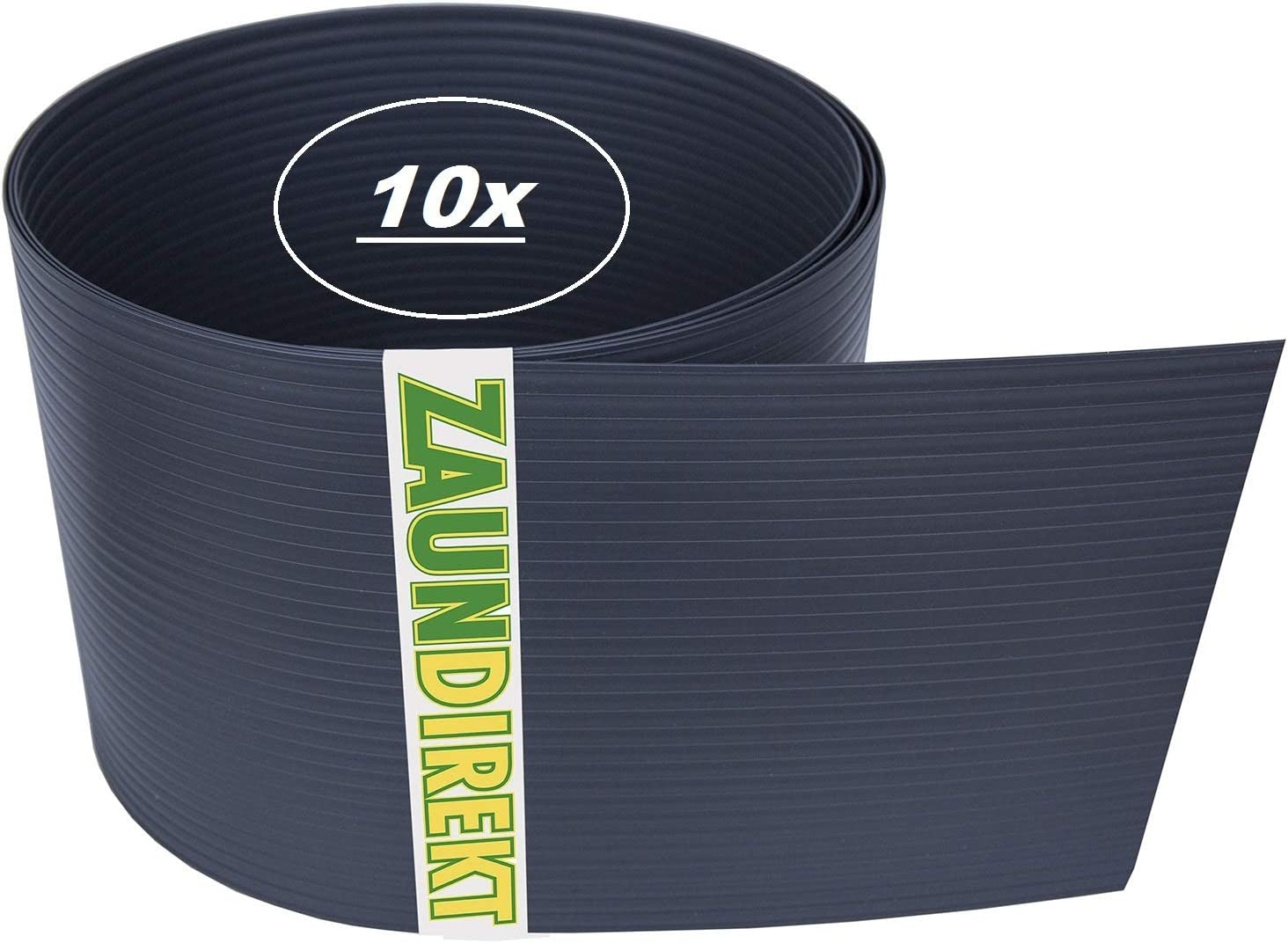 10 Stuck Premium Hart Pvc Sichtschutz Streifen Ral 7016 Anthrazit
