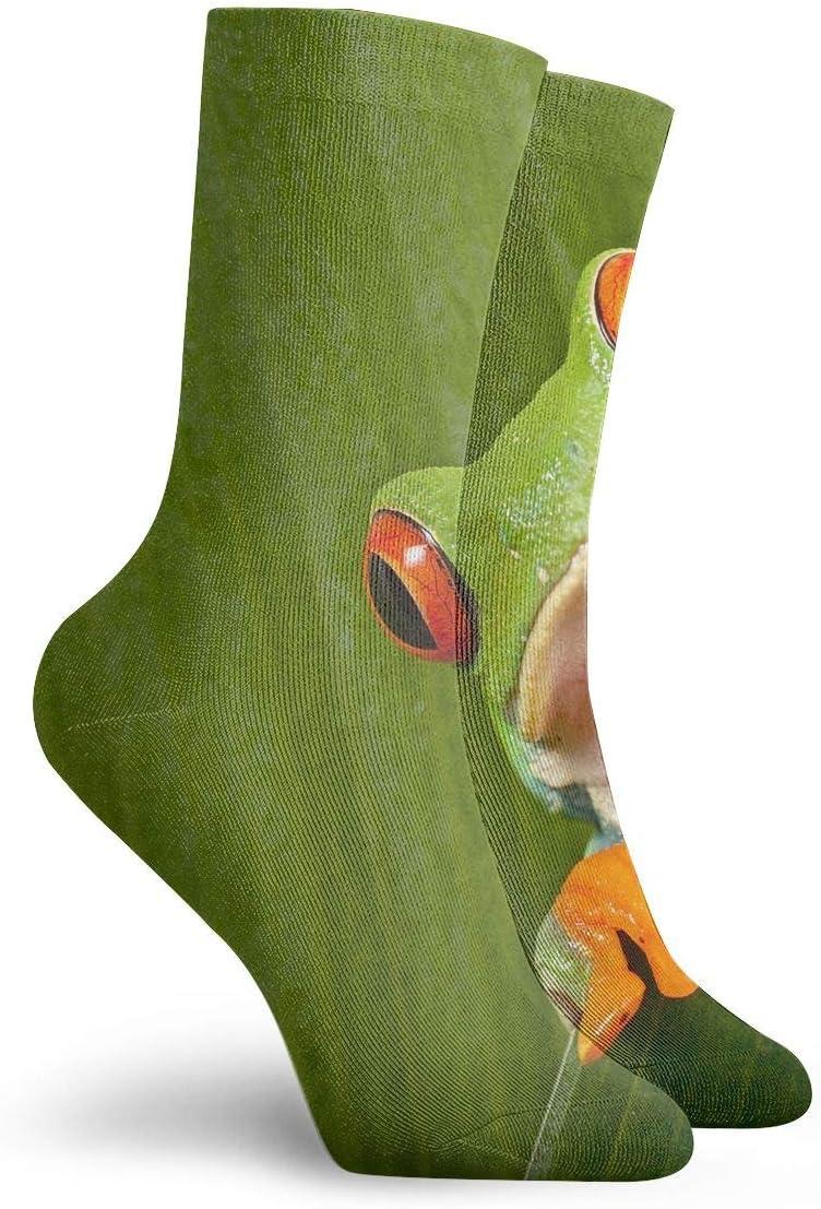 WEEDKEYCAT Orange Star Night Light Adult Short Socks Cotton Cool Socks for Mens Womens Yoga Hiking Cycling Running Soccer Sports