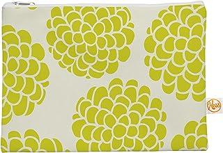 Kess InHouse 12,5x 21,6cm Pom Graphic'Grape Blossoms Circles' Tout ce Sac–Jaune