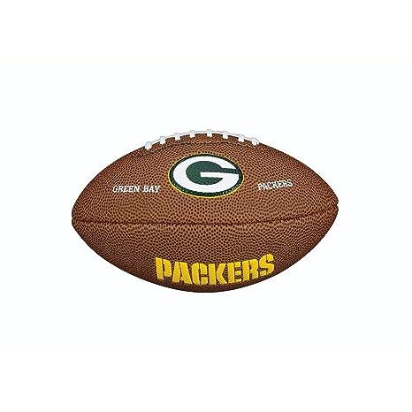 Wilson NFL Team Logo Green Bay Packers Mini balón de fútbol ...