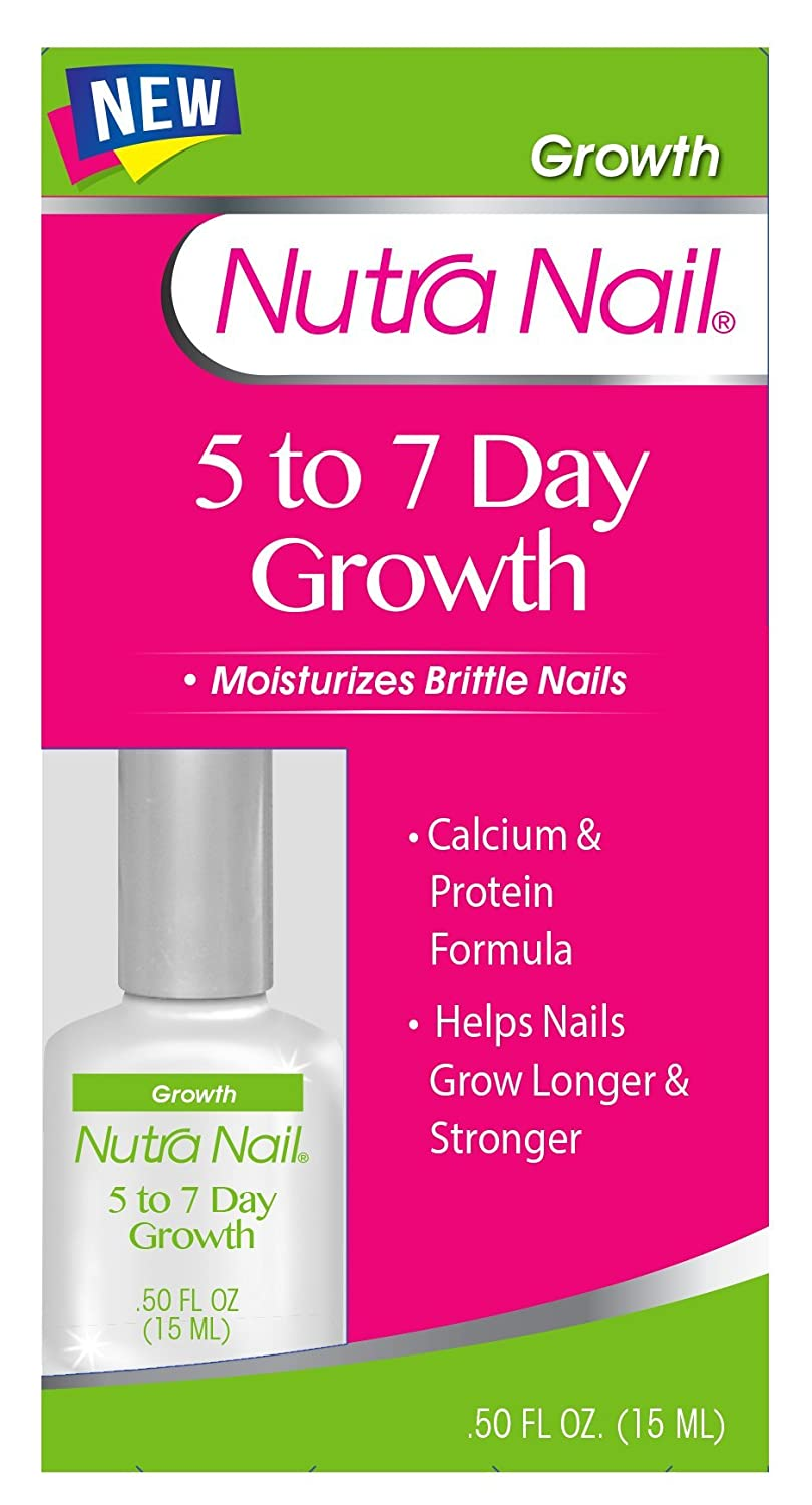 Amazon.com : Nutra Nail 5 to 7 Day Growth Calcium Formula, 0.45 ...