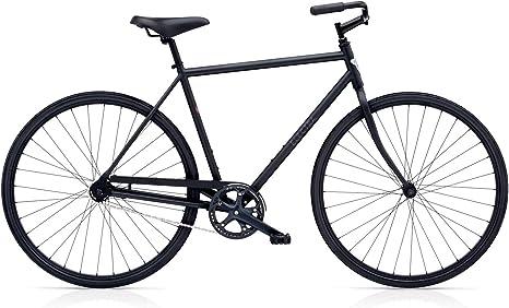 Electra Loft 1 Hombre Bicicleta Negro Mate Regular Fixie Urban ...