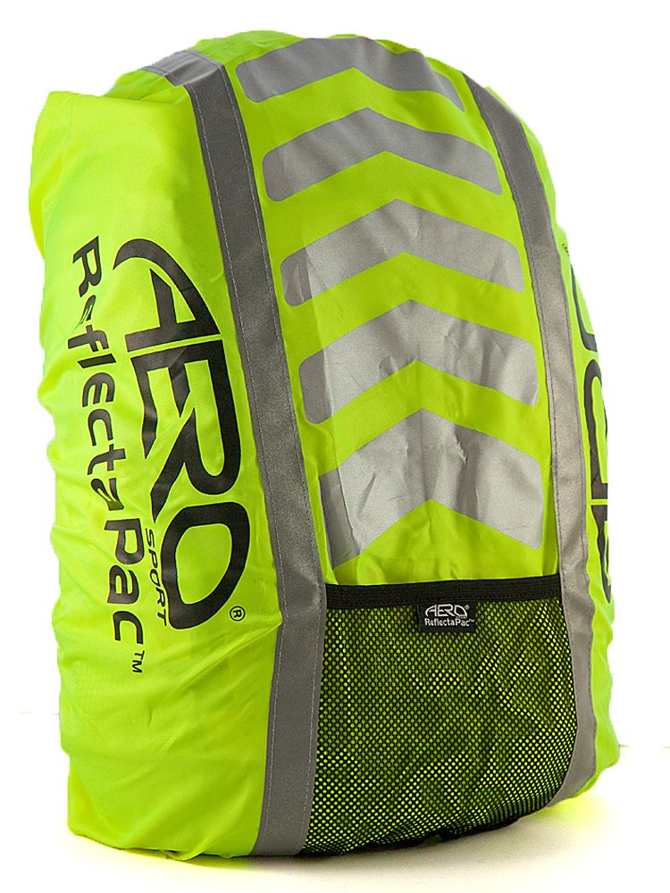 Aero Sport ReflectaPac 3M Scotchlite Hi Viz Waterproof Rucksack Cover, Yellow AutoMotion Factors Limited ARC10