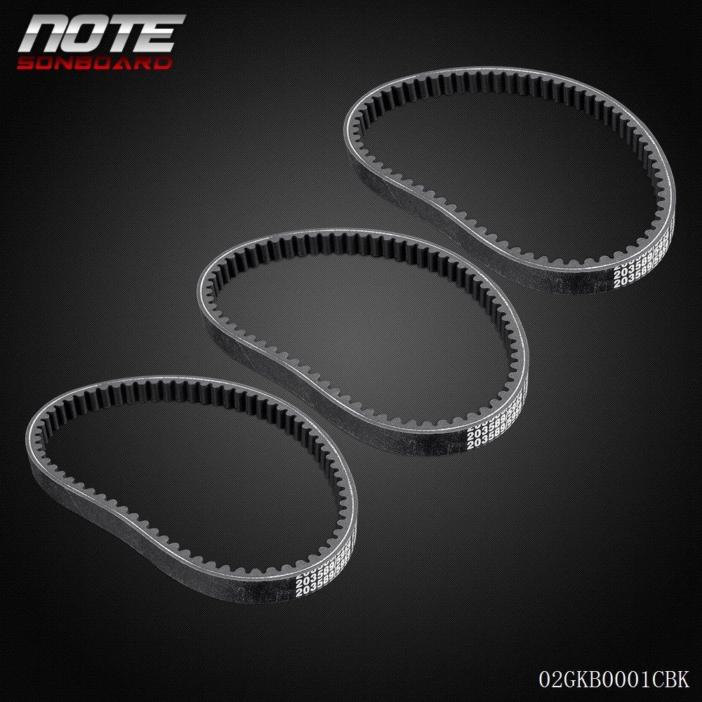 30 Series Asymmetrical Torque Converter Belt For Mini Bike Go Kart 203589