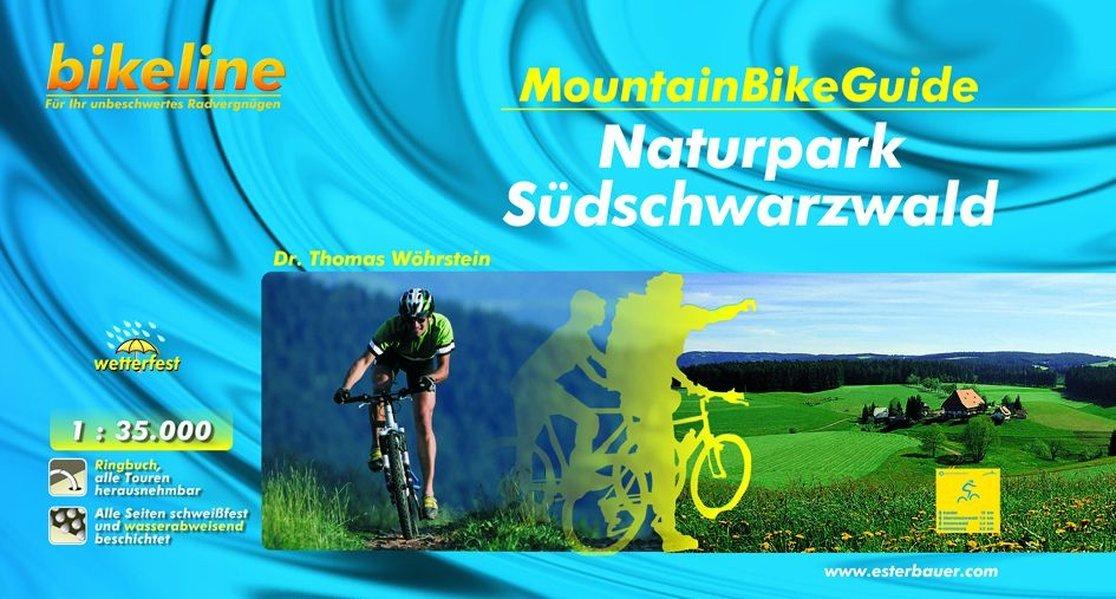 Mountainbikeguide Naturpark Südschwarzwald (Bikeline - MountainBikeGuides)