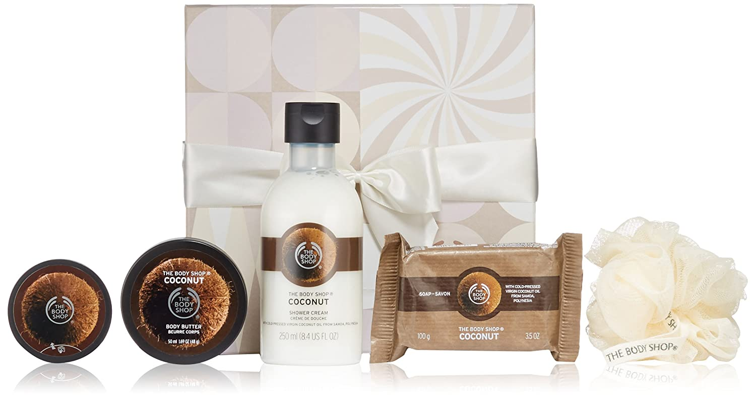 The Body Shop Coconut Festive.