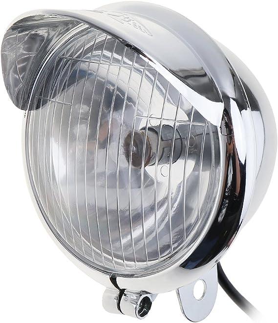 benwei 2pcs 10/W Universal Motocicleta Faros delanteros para moto Retro bala niebla luz auxiliar luz para harley
