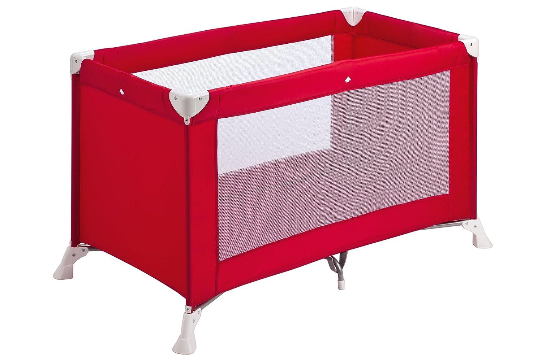 Safety 1st Soft Dreams Lettino da Campeggio pieghevole, leggero e compatto, colore rosso scuro Dorel 21124590