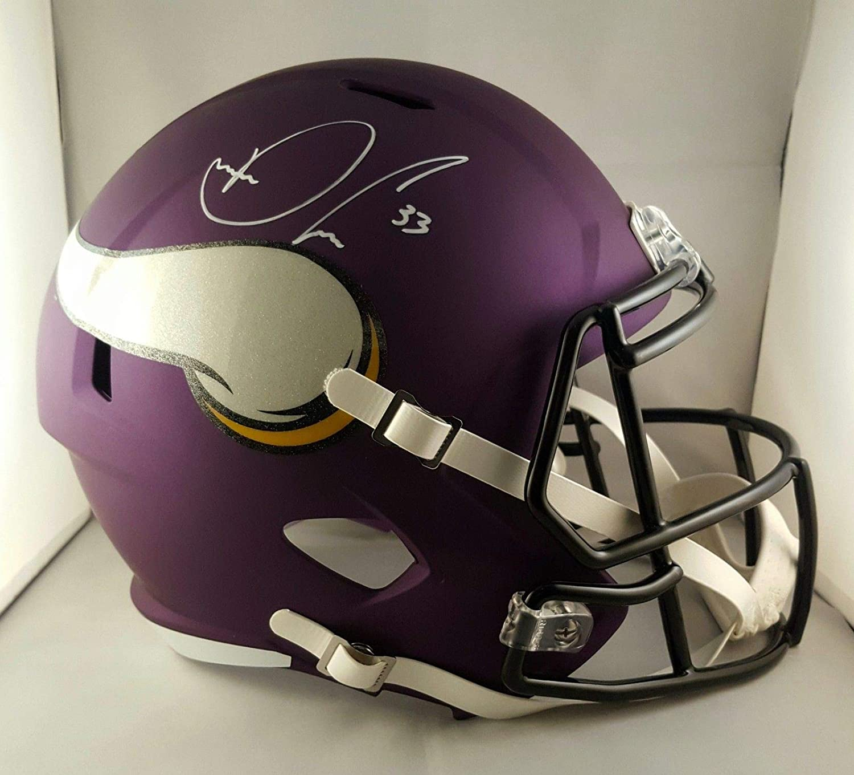 4296ccc9 Amazon.com: Dalvin Cook Autographed Signed Full Size Helmet Minnesota  Vikings JSA: Sports Collectibles